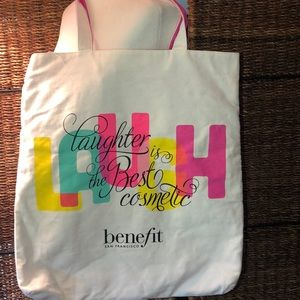 Benefit Cosmetics Canvas Tote